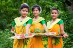 Koch Rajbongshi Girls in Patani